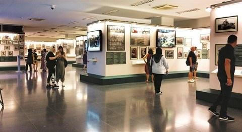 Le Musee des vestiges de la guerre et l'aspiration a la paix hinh anh 2