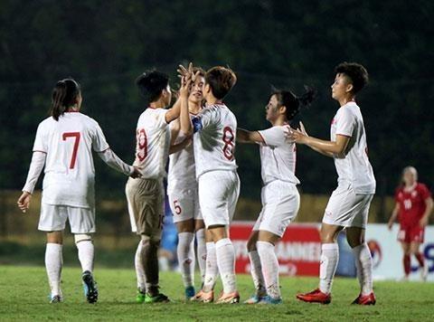 U19 : l'equipe feminine vietnamienne se qualifie pour le Championnat asiatique de football hinh anh 1