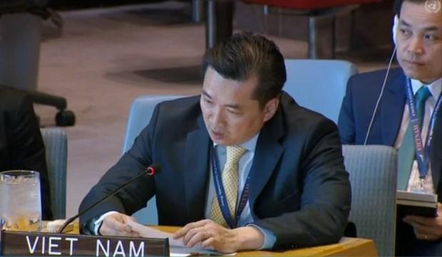 Le Vietnam appelle a la restauration du role de l'autorite palestinienne dans la bande du Gaza hinh anh 1