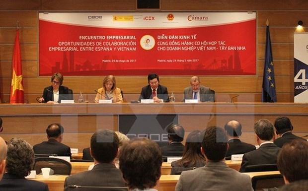 L'Espagne, premiere destination des investisseurs vietnamiens hinh anh 1