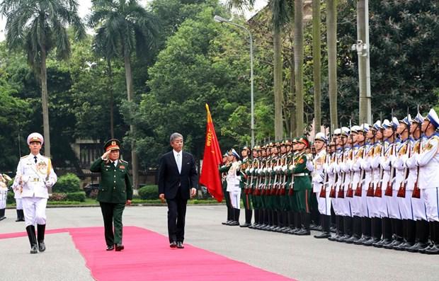 Le Vietnam et le Japon renforcent leurs liens dans la defense hinh anh 1