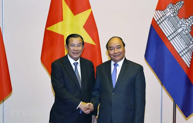 Le Premier ministre recoit des dirigeants laotiens et cambodgiens hinh anh 1