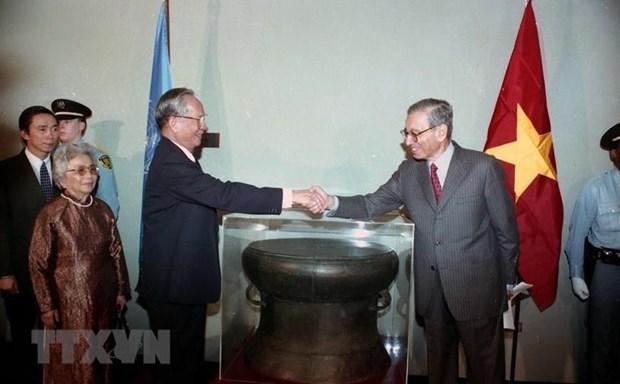 La presse cambodgienne et americaine regrette l'ancien president Le Duc Anh hinh anh 1