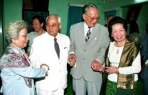 La ceremonie funeraire de l'ancien president Le Duc Anh a l'etranger hinh anh 1