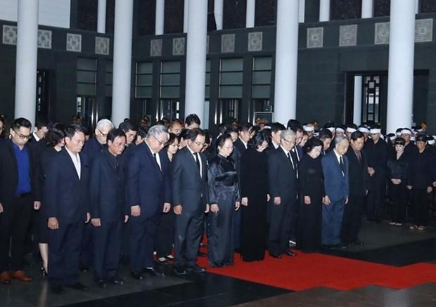 Funerailles nationales pour l'ancien president Le Duc Anh hinh anh 1