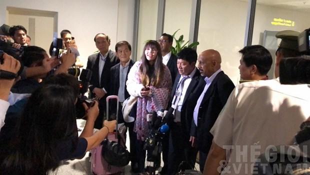 Liberation de Doan Thi Huong : declaration de la porte-parole du ministere des Affaires etrangeres hinh anh 1