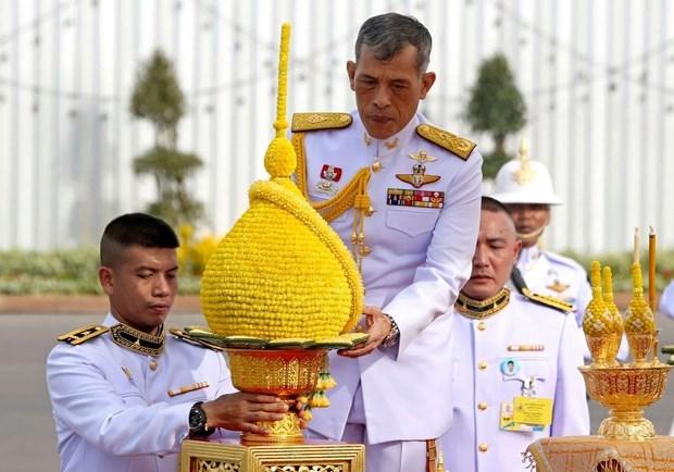 Maha Vajiralongkorn couronne roi de Thailande hinh anh 1