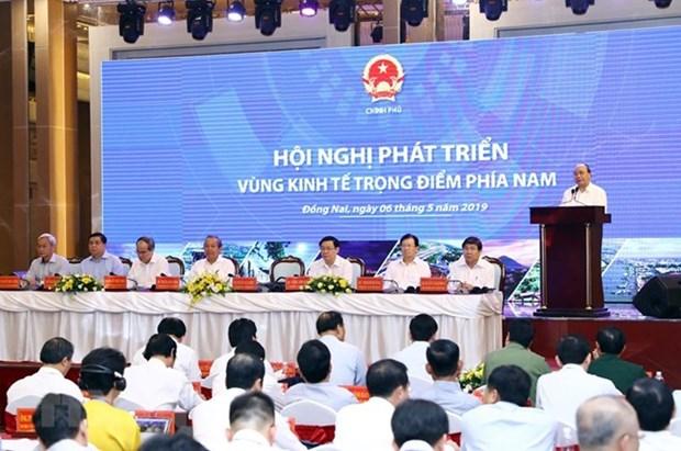 Le PM exhorte a doper la croissance de la region economique cle du Sud hinh anh 1