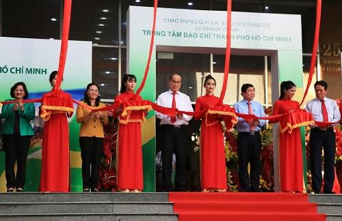 Le premier centre de presse du Vietnam s'ouvre a Ho Chi Minh-Ville hinh anh 1