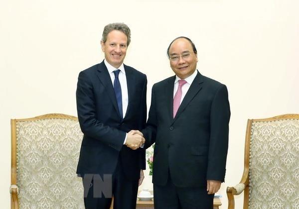Le PM apprecie l'investissement de Warburg Pincus au Vietnam hinh anh 1