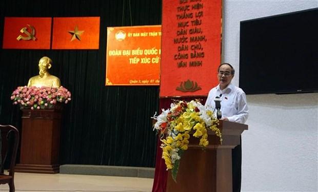 L'electorat de Ho Chi Minh-Ville veut frapper fort la corruption hinh anh 1
