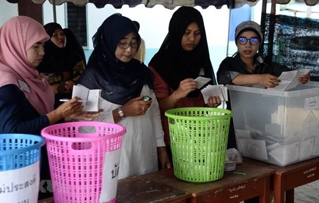 Thailande: la CE annonce les 349 deputes elus par les circonscriptions hinh anh 1