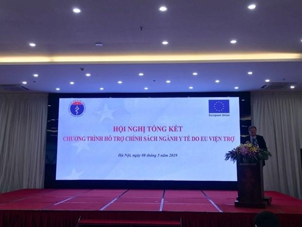 Aide de l'UE pour ameliorer le secteur de la sante au Vietnam hinh anh 1