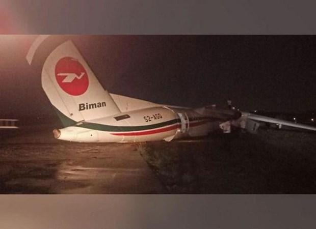 Myanmar: un avion sort de la piste, onze blesses hinh anh 1