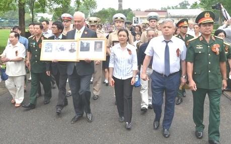 """Le """"Corps de troupe immortel"""" commemore a Hanoi hinh anh 2"""