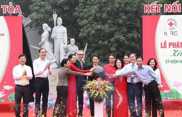 Le lancement du «Mois de l'action humanitaire» hinh anh 1