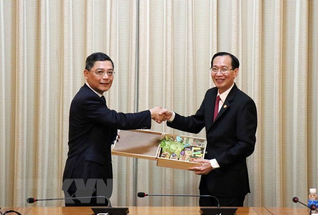 L'acceleration de la cooperation entre HCM-Ville et Shanghai hinh anh 1
