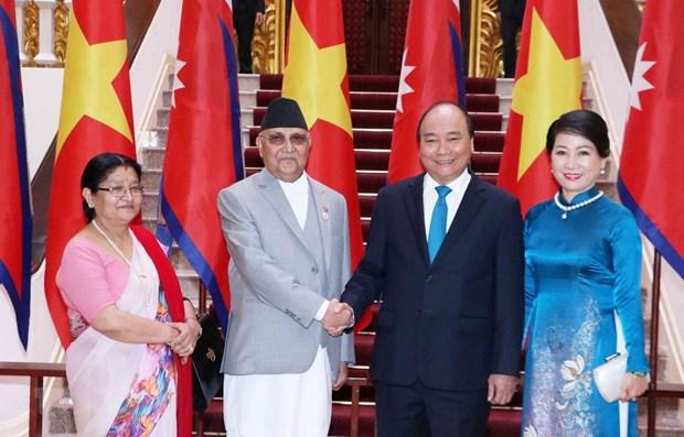 Declaration commune Vietnam-Nepal hinh anh 1
