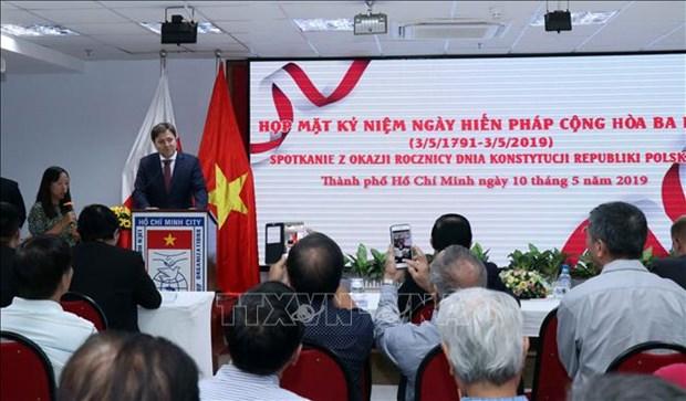 Ho Chi Minh-Ville celebre la Fete de la Constitution de Pologne hinh anh 1