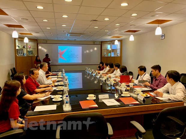 Vietnam et Singapour promeuvent les echanges entre les deux peuples hinh anh 1
