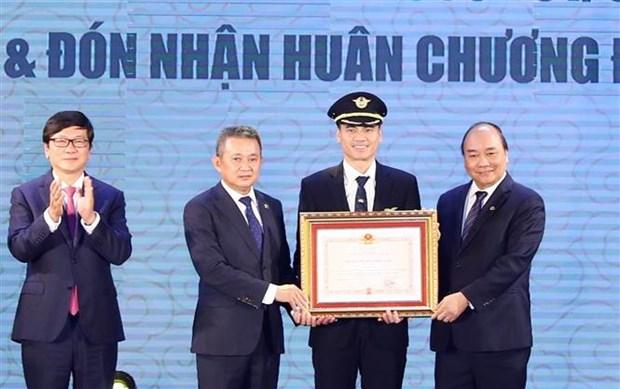 La Division des equipages de conduite 919 de Vietnam Airlines a l'honneur hinh anh 1