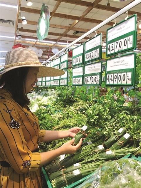 Des supermarches remplacent le plastique par des feuilles de bananier hinh anh 1
