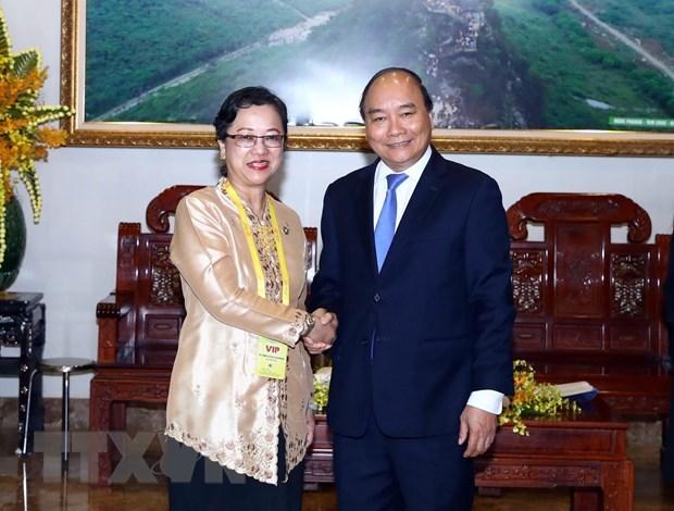 Le PM recoit la vice-secretaire generale des Nations Unies hinh anh 1