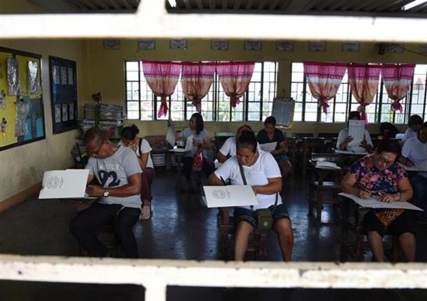 Philippines : explosions avant les elections de mi-mandat hinh anh 1