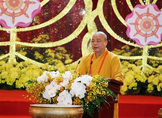 La Journee du Vesak 2019 s'acheve par la Declaration de Ha Nam hinh anh 1