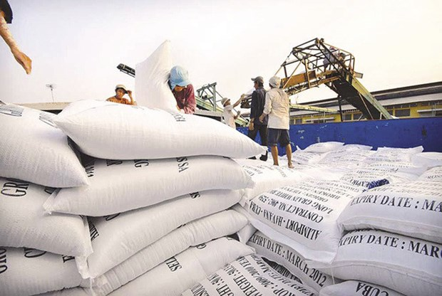 4 mois: 38% du riz d'exportation du Vietnam expedies aux Philippines hinh anh 1