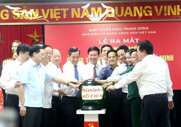 Nouvelle interface lancee pour la page sur le President Ho Chi Minh hinh anh 1