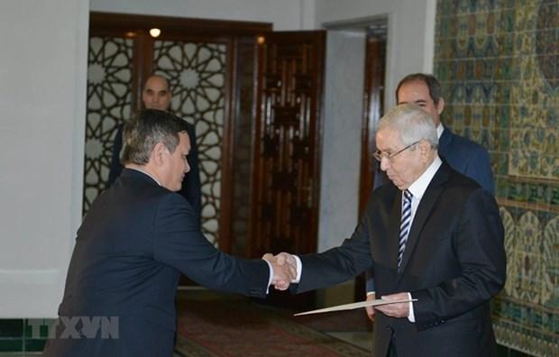 Le president algerien souhaite renforcer les relations avec le Vietnam hinh anh 1