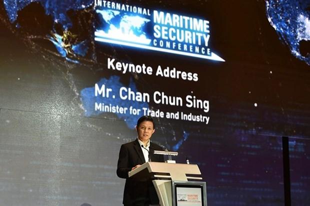 Securite maritime : Singapour insiste sur la confiance et la cooperation hinh anh 1