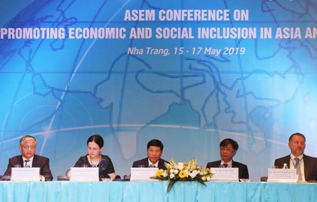 La conference de l'ASEM sur le developpement inclusif se clot hinh anh 1