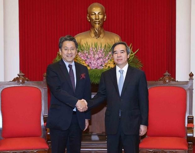 Le Vietnam promet de favoriser les entreprises japonaises hinh anh 1
