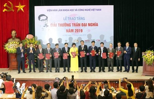 Le Prix Tran Dai Nghia honore des travaux scientifiques exceptionnels hinh anh 1