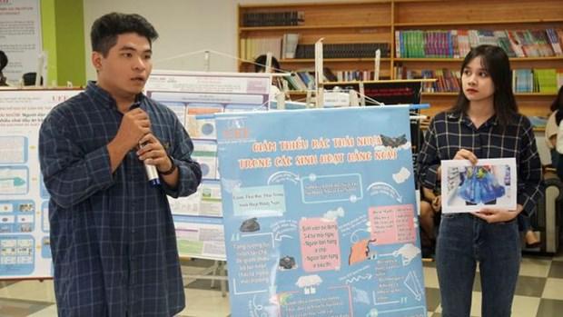 Les universites de Ho Chi Minh-Ville disent «non» au plastique hinh anh 1