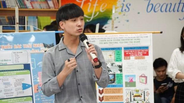 Les universites de Ho Chi Minh-Ville disent «non» au plastique hinh anh 2