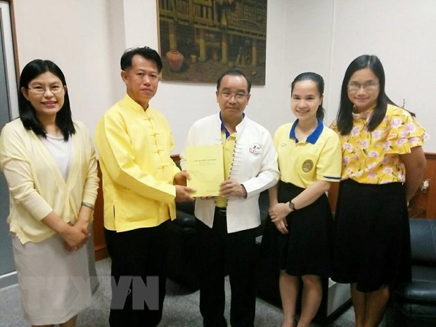 Publication en Thailande d'un livre sur le president Ho Chi Minh hinh anh 1