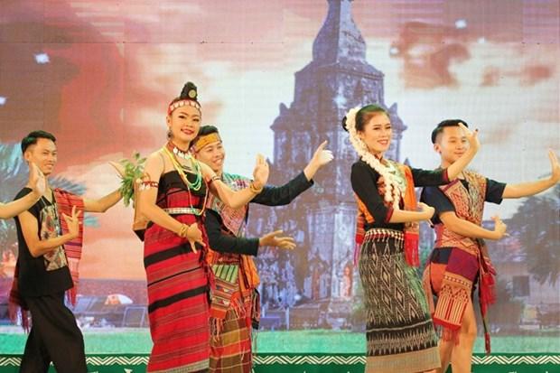 Festival des minorites vivant dans les provinces frontalieres Vietnam-Laos hinh anh 1