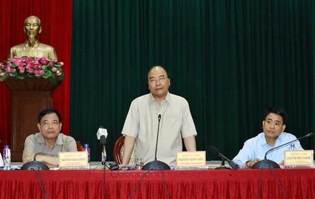 Le PM Nguyen Xuan Phuc demande de redoubler d'efforts contre la PPA hinh anh 1