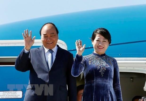 Le Premier ministre part pour la Russie, la Norvege et la Suede hinh anh 1