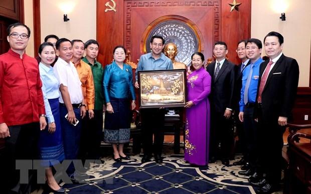 Ho Chi Minh-Ville facilite la cooperation des jeunes avec le Laos hinh anh 1