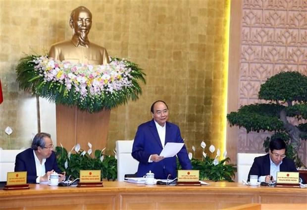 Le PM demande plus d'efforts pour materialiser les objectifs de 2019 hinh anh 1