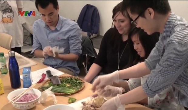 France: enseignement de la langue vietnamienne via la cuisine vietnamienne hinh anh 1