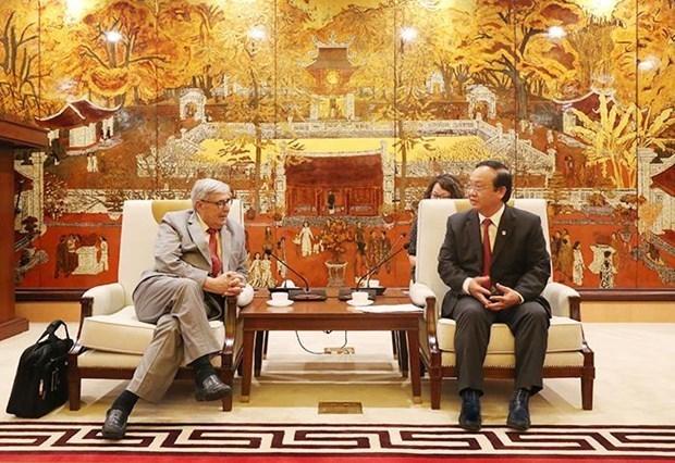 Hanoi veut cooperer avec la France sur l'eau et le traitement des dechets hinh anh 1