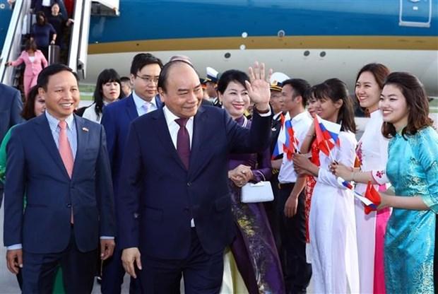 Le PM Nguyen Xuan Phuc salue la dynamique des liens avec la Russie hinh anh 1