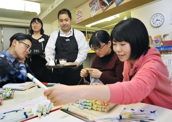 Plus de 200 travailleurs vietnamiens passent un concours pour sejourner au Japon hinh anh 1