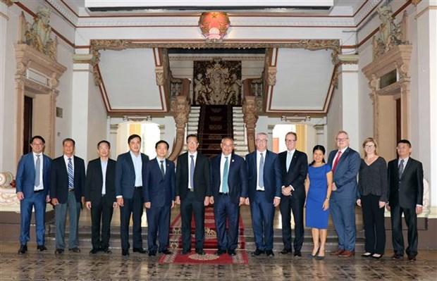 Ho Chi Minh-Ville renforce sa cooperation avec Gold Coast (Australie) hinh anh 1