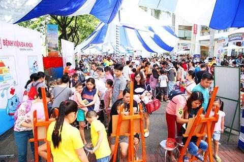Ho Chi Minh-Ville: Phu My Hung fete les enfants hinh anh 1